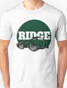 Ridge Swimming Cap and Goggles Unisex T-Shirt