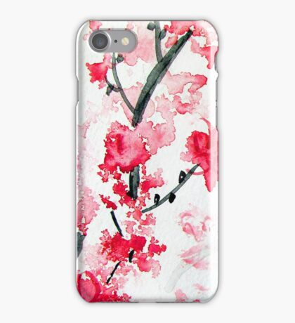 Cherry Blossoms II iPhone Case/Skin