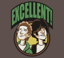 Time Travelers, Series 2 - Bill & Ted (Alternate 2) by Daniel Rubinstein