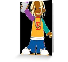 Young Thug Lil Bill Greeting Card