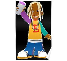 Young Thug Lil Bill Poster