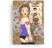 Billy's Girl Canvas Print