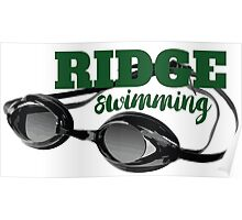 Ridge Swimming Goggles Poster