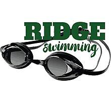 Ridge Swimming Goggles Photographic Print