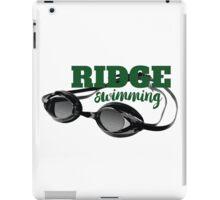Ridge Swimming Goggles iPad Case/Skin