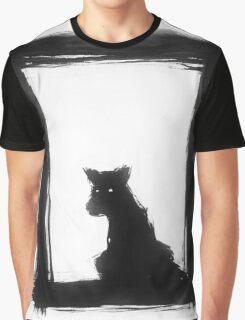 The Black Dog at the Door Graphic T-Shirt