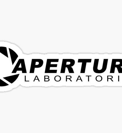 Portal 2: Aperture Science Logo Sticker