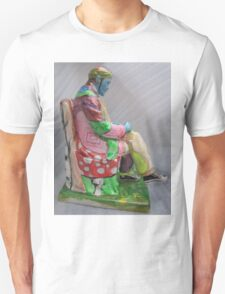 """Lenin or Lenon""- Original painting sculpture Unisex T-Shirt"