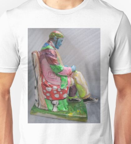 """Lenin or Lenon""- Original painting sculpture Unisex T-Shirt"