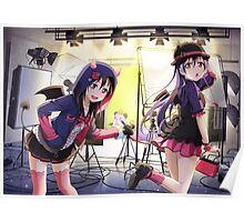 Little Devil UR UnIdolized Umi and Nico Print Poster