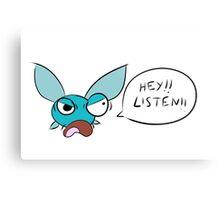 Angry Navi Hey Listen!! (Zelda) Metal Print