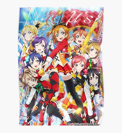 Love Live School Idol Movie Poster Poster