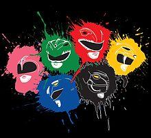 Splatter Rangers by Ninjae-Art