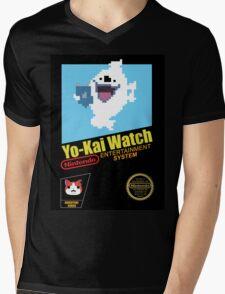 Yo-Kai Watch old school Nintendo game Mens V-Neck T-Shirt