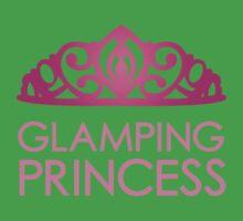 Glamping Princess Baby Tee