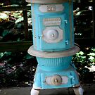 ANTIQUE HEATING STOVE by Pauline Evans