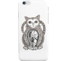 Contented Cat iPhone Case/Skin