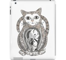 Contented Cat iPad Case/Skin