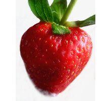 Red Ripe Strawberry Photographic Print
