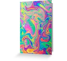 Holographic Tumblr Greeting Card