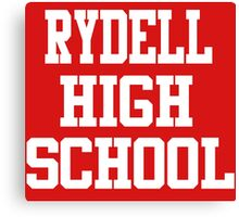 Grease - Rydell High School Canvas Print