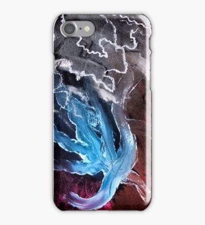 blue electricity  iPhone Case/Skin
