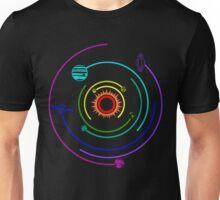 Rainbow Solar System  Unisex T-Shirt