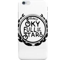 You're a Sky Full of Stars logo iPhone Case/Skin