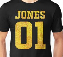 Gold Front Ezekiel Jones 01 Fan Jersey for The Librarians Unisex T-Shirt