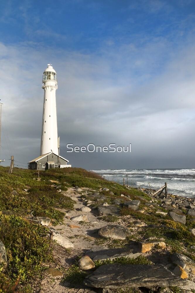 Lighthouse at Kommetjie by SeeOneSoul