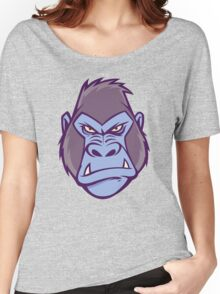 Gorilla Illustration Women's Relaxed Fit T-Shirt