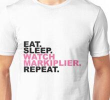 EAT, SLEEP, MARKIPLIER, REPEAT. Unisex T-Shirt