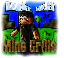 Mincraft Bear Grills by quikdraw