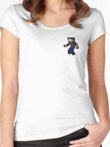 quikdraw self portrait Women's Fitted Scoop T-Shirt