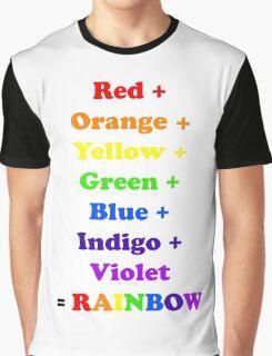 = Rainbow Graphic T-Shirt