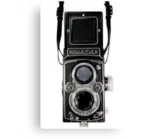 Vintage Rolleiflex Automat MX-EVS Model K4B Twin Lens Film Camera Canvas Print