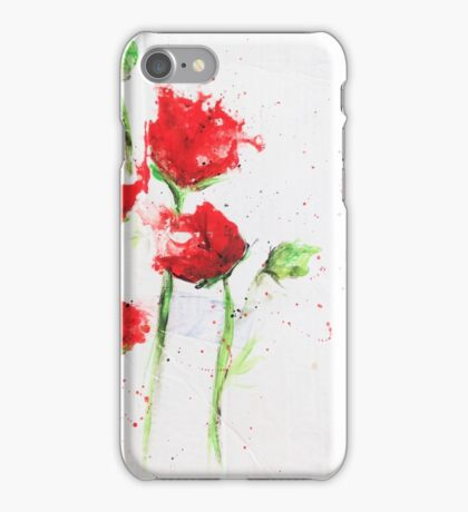The Poppies iPhone Case/Skin