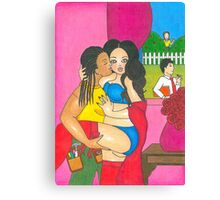 The Cheating Desperate Housewife Canvas Print