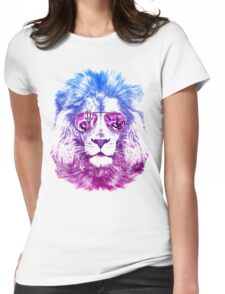 Tackle The Gazzle Says Mr. Lion Womens Fitted T-Shirt