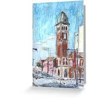 Redfern Street Greeting Card