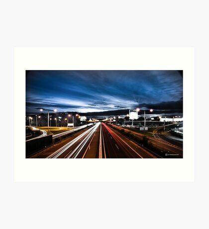 .Highway Art Print