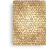 Shades of Gold Canvas Print