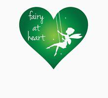 Fairy at Heart Women's Fitted V-Neck T-Shirt