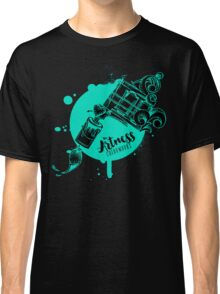 The Artness Colorworks - Art Is Life ( TEAL ) Classic T-Shirt