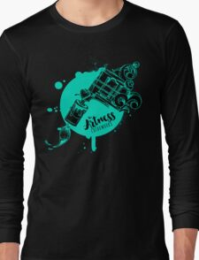 The Artness Colorworks - Art Is Life ( TEAL ) Long Sleeve T-Shirt