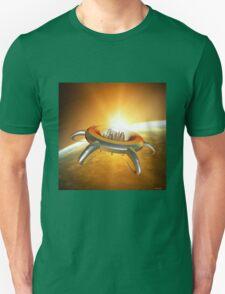 Alien City in space Unisex T-Shirt