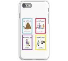 Words from Daddy's Mouth - Books 1 to 4 iPhone Case/Skin