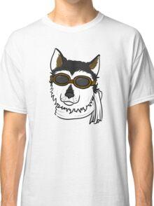 Pilot Husky Portrait Classic T-Shirt