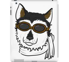 Pilot Husky Portrait iPad Case/Skin