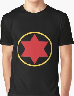 Black Widow Logo Redesign Graphic T-Shirt